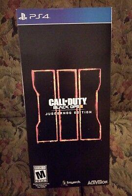 Call of Duty: Black Ops III Juggernog Printing (PS4) *Label New & Sealed*