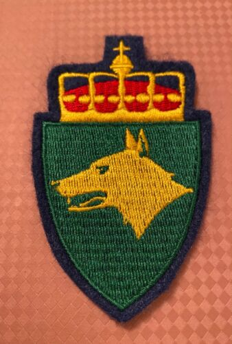 NORWAY ARMY PATCHES - FORSVARETS HUNDESKOLE ...