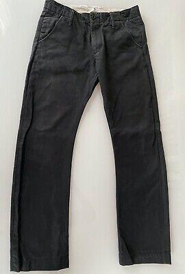 +J Uniqlo X Jil Sander Chino Pants 32, Deep Midnight Blue, looks black
