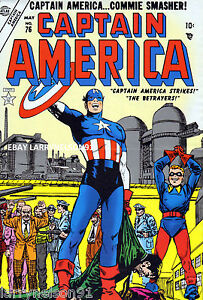 CAPTAIN-AMERICA-76-POSTER-COMMIE-SMASHER-ROMITA-AVENGERS-BUCKY-WINTER-SOLDIER