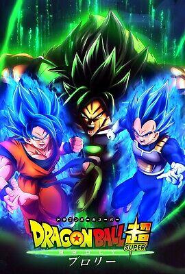 Gogeta Super Saiyan God Blue Art Poster by Inking Solstice DBZ 11x17 13x19