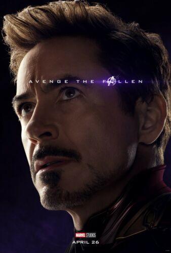 Avengers Endgame movie poster  - 11 x 17 - Iron Man, Robert Downey Jr