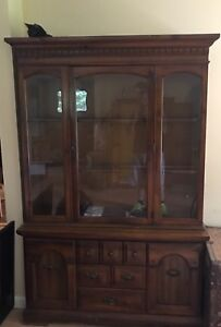 China Cabinet Awesome For Cottage. Priced To Sale