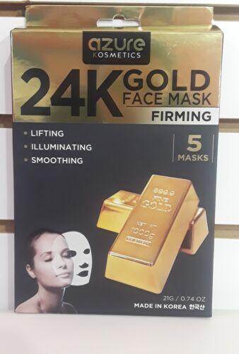 AZURE Cosmetic 24K Gold Lifting Illuminating Smoothing 5 pac