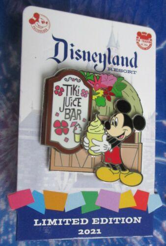 Disney - 2021 DLR AP ENCHANTED TIKI JUICE BAR MICKEY WITH A DOLE WHIP Pin - LE