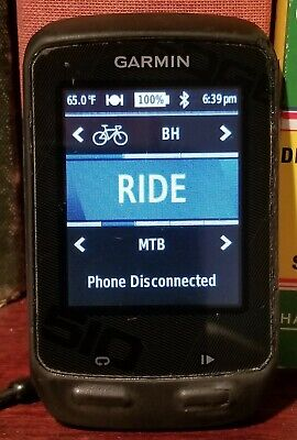 Garmin Edge 510 bike computer with some accessories, used/very good condition