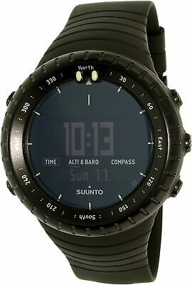 Suunto Men's Core All Black SS014279010 Resin Quartz Sport Watch