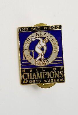 Costume Jewelry San Diego (Vintage San Diego Hall of Champions Sports Museum Pin Breitbard HOF Souvenir)
