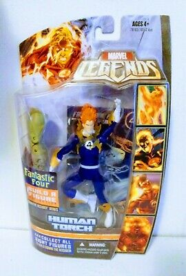MARVEL LEGENDS HUMAN TORCH RONAN BAF SERIES