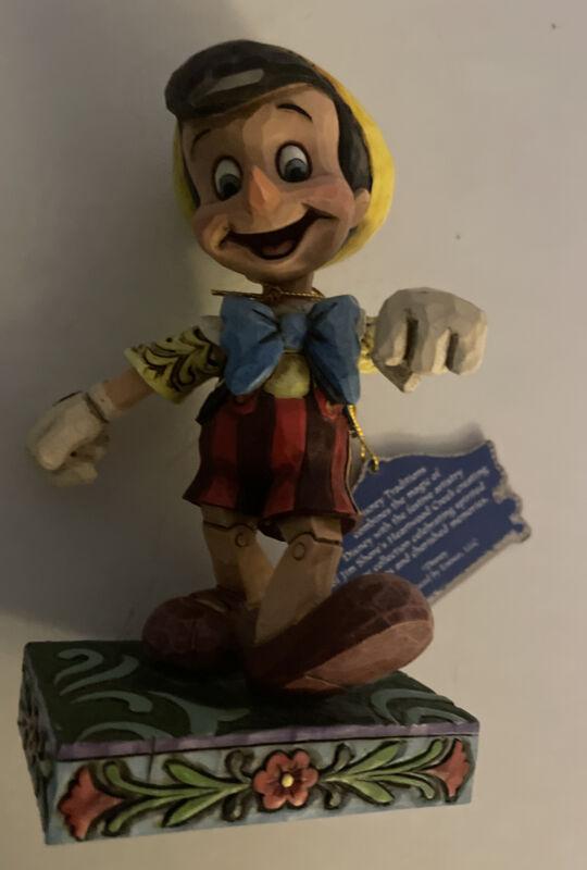 Jim Shore Disney Lively Step Pinocchio 4010027 Disney Traditions