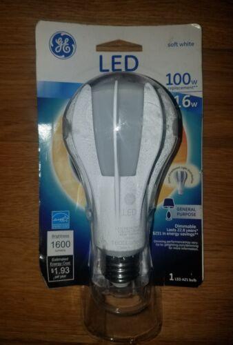 GE Lighting 13909 A-Line Medium Base LED Light Bulb, 16 Watt