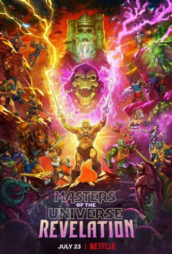 Masters Of The Universe Revelation poster (b)  -  11 x 17 inches
