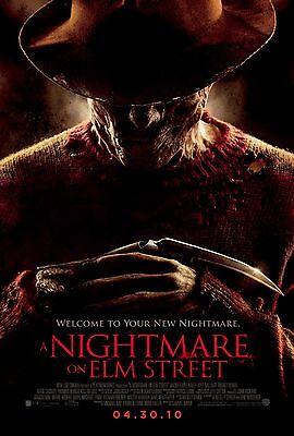 2010 A NIGHTMARE ON ELM STREET Movie Silk Fabric Poster Horror Freddy