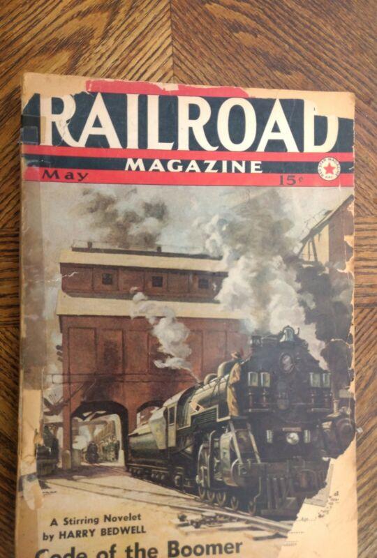 Railroad Magazine May 1940 Issue
