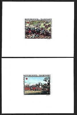 Dahomey, 1968, Art, Red Cross, deluxe, compl, MNH