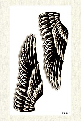 US SELLER, angel wing temporary tattoo waterproof face decor - Angel Wing Decorations