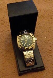 Vostok Amphibia Watch 710059 (Scuba Dude)