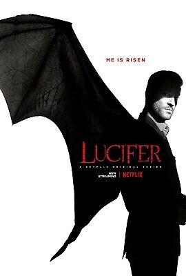 Lucifer poster (e)  -  11 x 17 inches - Tom Ellis