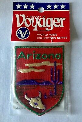 Vintage Voyager Brand Arizona Desert Patch Great Condition Used
