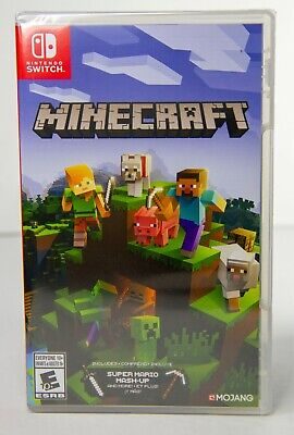 Minecraft - Nintendo Switch Physical Copy (SEALED / BRAND NEW) - Free Shipping