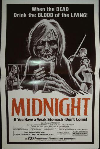 Midnight Pressbook 1982 Melanie Verlin, Lawrence Tierney