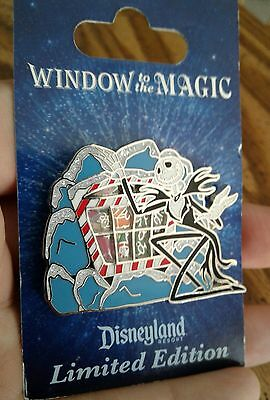 Disney Pin DLR Window to the Magic Jack Skellington Nightmare Before Christmas