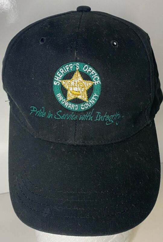 Broward Sheriff Fla FL State of Florida Police Baseball Law Enforcement Cap Hat