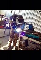 Looking for welder helper job