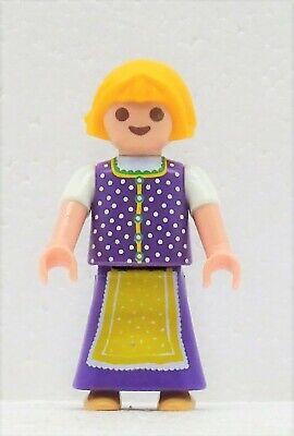 Dolce Bambina in Dirndl Costume Baviera Playmobil per Alm Heidi Oktoberfest