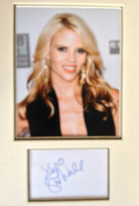SHANA-WALL-TOP-MODEL-ACTRESS-STUNNING-SIGNED-COLOUR-PHOTO-DISPLAY