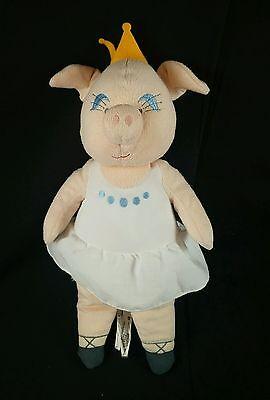 Ikea Sweden Plush Klappar Stuffed Animal Cirkus Princess Ballerina Pig - Ballerina Stuffed Animal