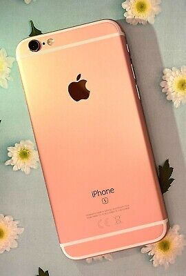 Apple iPhone 6S 16GB Unlocked Rose Gold Good Condition - No Touch ID