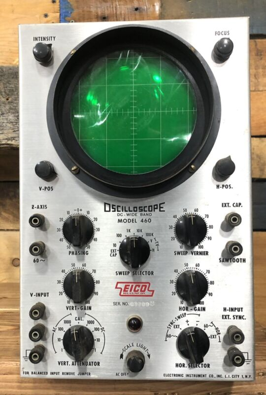 EICO 460 DC Wide Band Oscilloscope Used    ( Only )