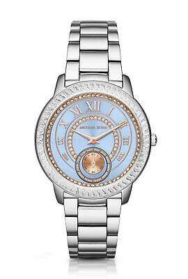 2dd9ad2e743d Michael Kors MK6286 Madelyn Two-Tone Silver   Blue Stainless Steel Women s  Watch