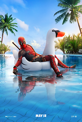 Deadpool 2 Movie Poster  - Ryan Reynolds, Josh Brolin, Cable