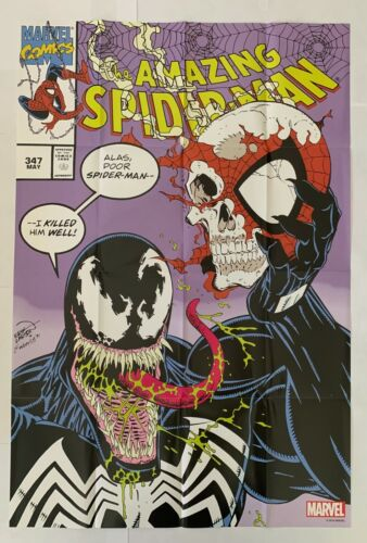 VENOM Folded Poster of Amazing Spider-Man #347 Erik Larson Cover 24