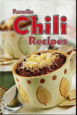 Favorite Chili Recipes 2005 Hardcover Cookbook Steak 5 Way Verde Vegetarian Blac
