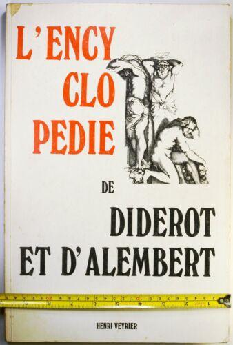 "Diderot Encyclopédie, Illustrations reprint 1965, Henri Veyrier, 15 x 10"",No. 18"