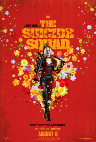 """THE SUICIDE SQUAD 2 11""""x17"""" MOVIE POSTER PRINT #6"""