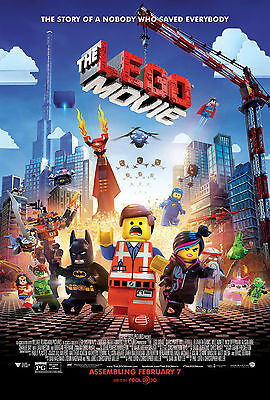 The Lego Movie  2014  Movie Poster  24X36    Will Arnett  Elizabeth Banks