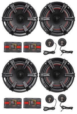 "2-Pair MB Quart XC1-216 X-Line 6.5"" 360 Watt Car Audio Component Speaker Systems"