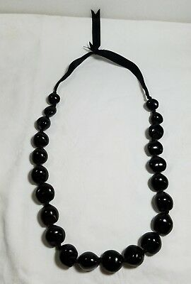New Kukui Nut Lei Necklace Hawaiian Wedding, Luau, Graduation