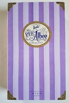 Barbie Doll Avon Collection Mrs PFE Albee Mattel Special Edition 1997 vintage
