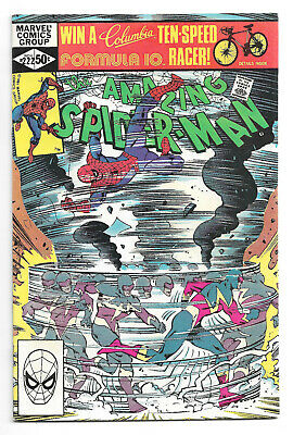 Amazing Spider-Man # 222 Marvel Comics 1981 Bob Hall art / 1st App. Speed Demon