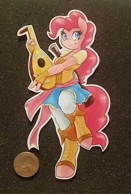 My Little Pony Pinkie Pie Sticker Bard Mashup - Pony Pinkie Pie
