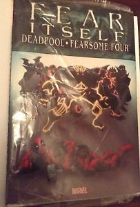 Fear Itself - Deadpool and Fearsome Four Hardcover graphic Novel