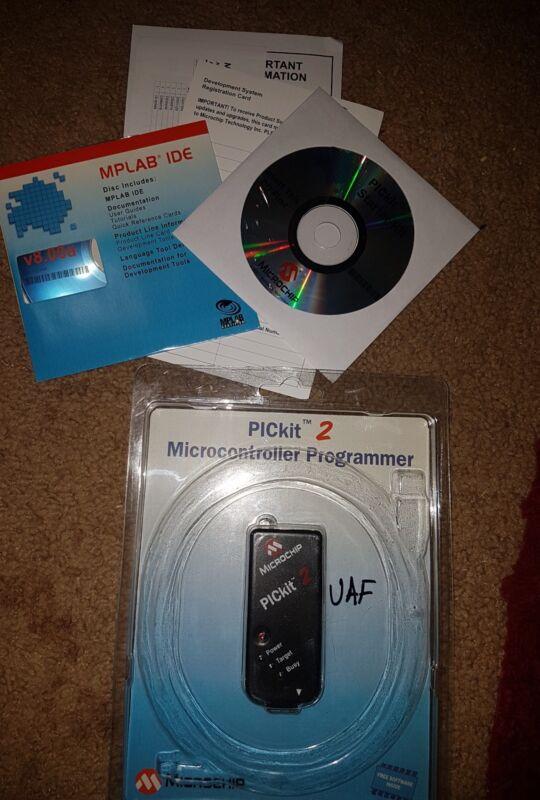 Authentic Microchip PICkit2 PIC Microchip Development Programmer Debugger