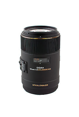Sigma EX 105 mm f 2.8 Macro DG OS HSM für Canon EOS NEU