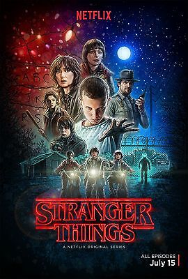 STRANGER THINGS COLLAGE  MAIN 11x17 MINI MOVIE COLLECTIBLE POSTER