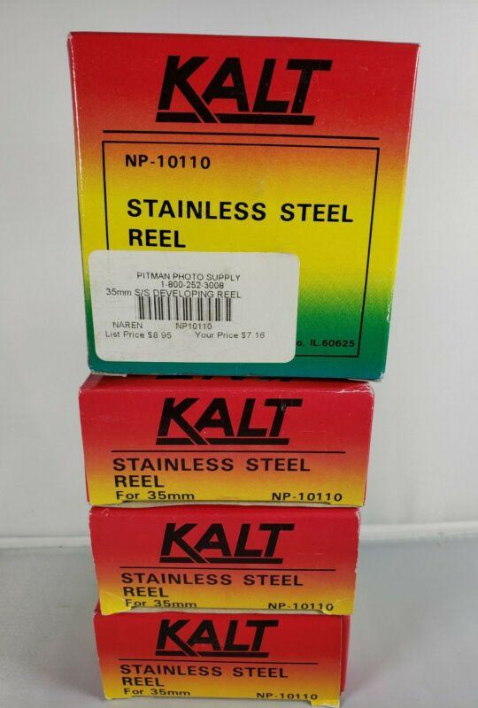 4 x Kalt Stainless Steel Reel -NP10110 (35mm)